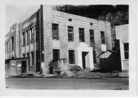Paintsville City Hall under construction