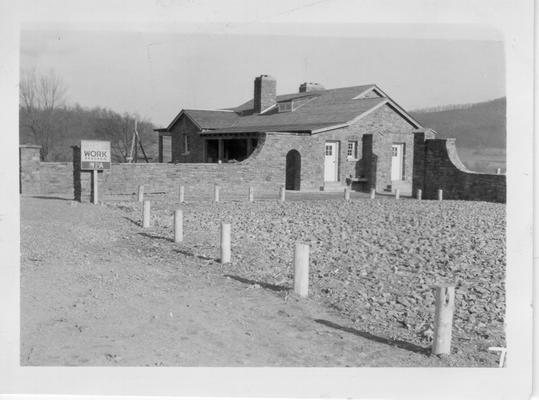 Caretaker's house at Dr. Thomas Walker State Park