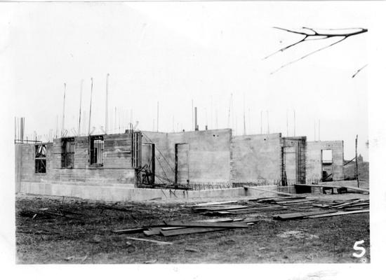 Smith Grove High School under construction