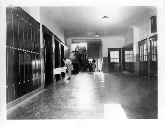 First floor hallway at Smith Grove High School