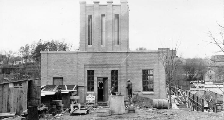 Project #2206 District 2: The construction of a city water supply and distribution system in Greensburg, KY. View photographed December 30, 1936