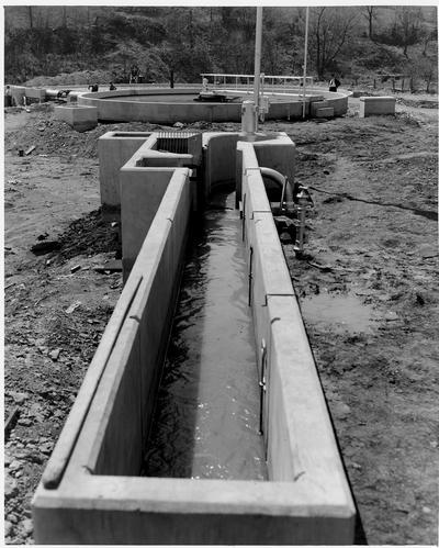 Sewage Entrance Trough, Danville Disposal Plant, Danville, KY
