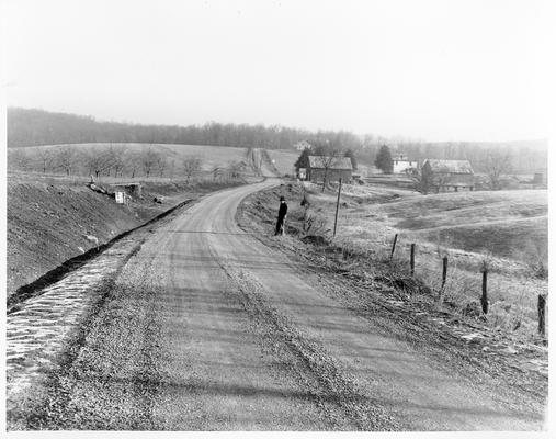 Reconstruction of California-Gubser Mill Road