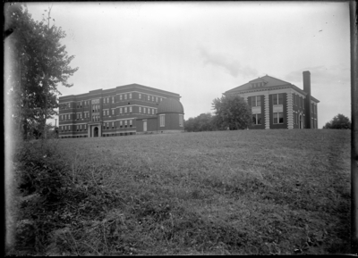Pence Hall (completed in 1909), an observatory, and Kastle Hall on the right