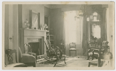 Front parlor of Helm Place