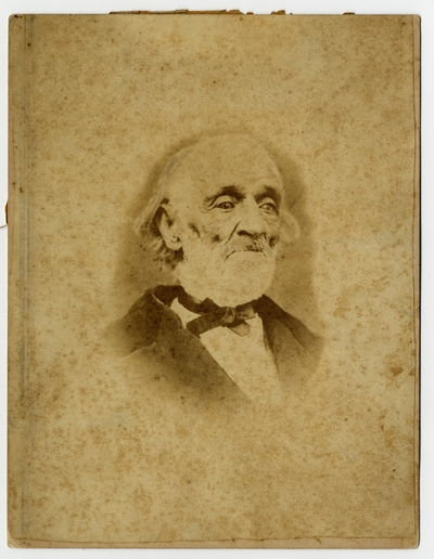 Samuel Briggs Todd,                                  Born near Lexington, Kentucky, May 15th, 1793. Died in Columbia, Missouri Sept 30th 1876 - a wounded soldier of the War of 1812 (verso)