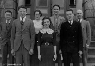 4-H Debate team, Mount Sterling, Kentucky