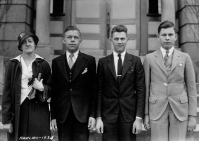 4-H Debate team, Harlan, Kentucky