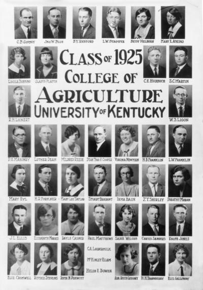 Class of 1925 composite