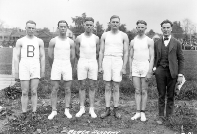 High school track team, Berea Academy