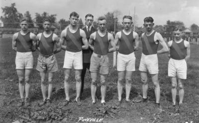 High school track team, Pineville High School