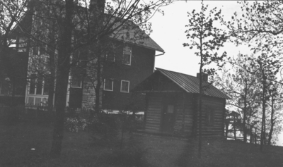 Chattanooga trip, unidentified house