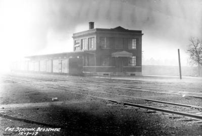 Freight station, Bessemer, Alabama