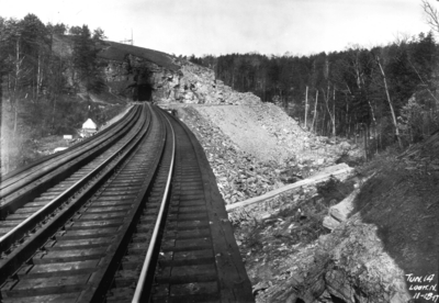 Tunnel 14, looking north