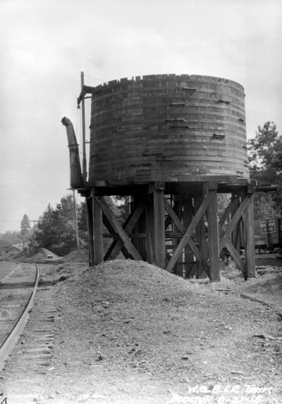 Westchester and Boston Tank, Blocton