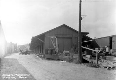 Lexington freight station