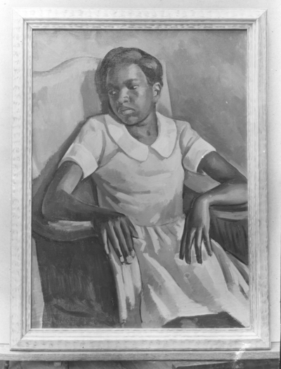 Portrait of African-American woman