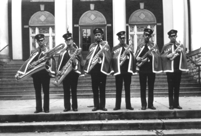 Group picture -- saxophones, University of Kentucky Band
