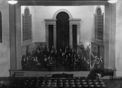 Performance in Memorial Hall, University of Kentucky