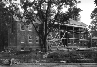Building construction, not identified