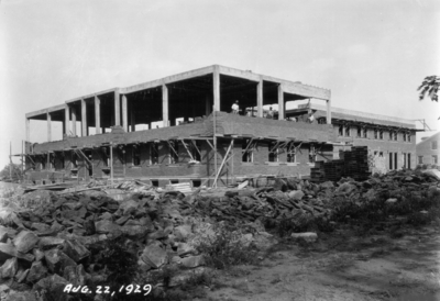 Dairy Products building under construction