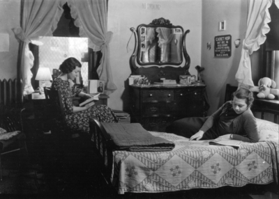 Women's dormitory, interior
