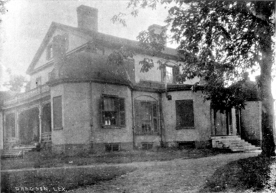 Original College Building at Woodland Park, Photographer, Gregson, Lexington