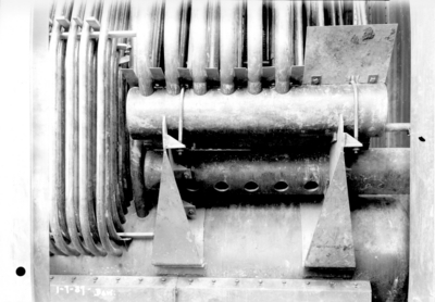 Pipes in central heating system