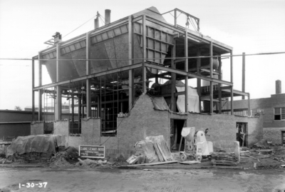 Construction of central heating system