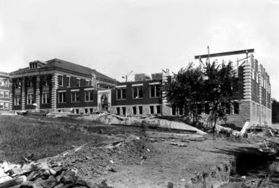 Kastle Hall under construction