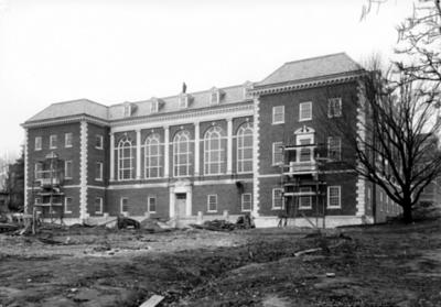 Margaret I. King Library under construction