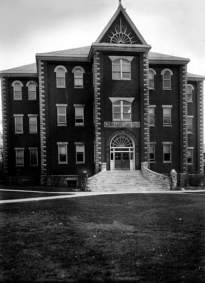 Miller Hall, front