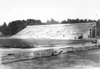 Stadium construction