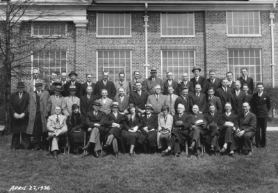 Group photograph, faculty
