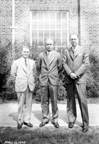 Three faculty members