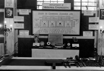 Exhibit, department of mechanical engineering