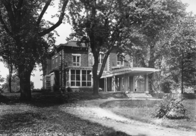 Maxwell Place exterior during McVey administration