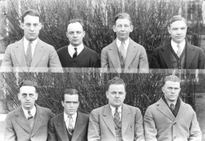 Class of 1926 (broken into groups of 4-8)