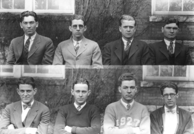 Class of 1927 (broken into groups of 4-8)