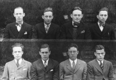 Class of 1928 (broken into groups of 4-8)