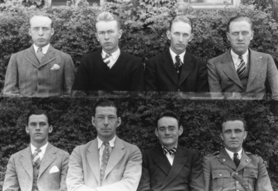 Class of 1928 (broken into groups of 4-8)