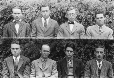 Class of 1929 (broken into groups of 4-8)