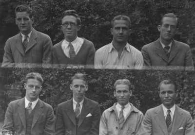 Class of 1930 (broken into groups of 4-8)