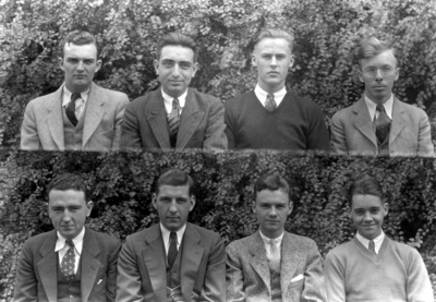 Class of 1932 (broken into groups of 4-8)