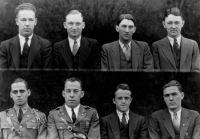 Class of 1933 (broken into groups of 4-8)