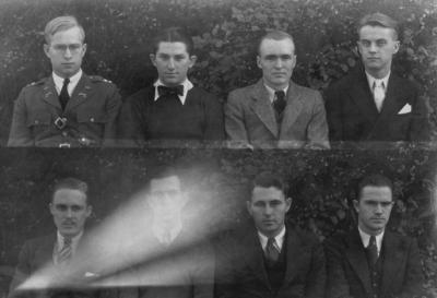 Class of 1934 (broken into groups of 4-8)