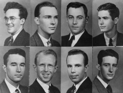 Class of 1938 (8 individual portraits per print)