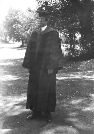 McHenry Rhoads, Professor of Education, 1911 - 1929, Emeritus, 1929 - 1934, funeral held in Memorial Hall