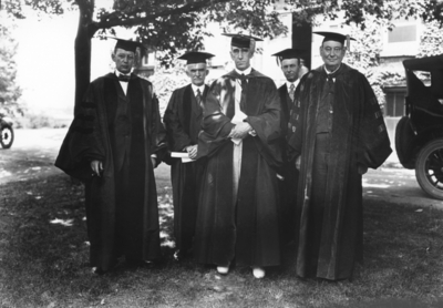 Commencement, conferring of honorary degrees