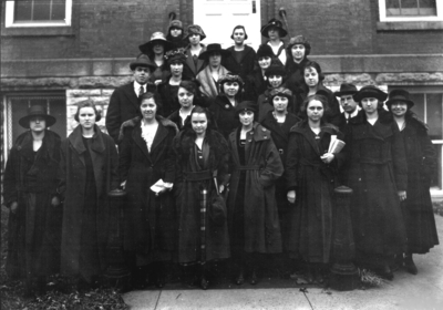 Group photograph, Miller Hall